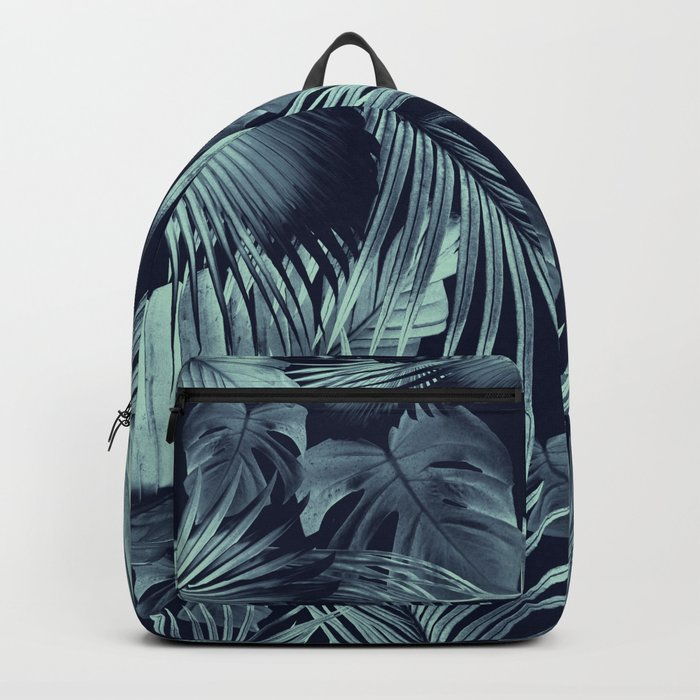 Tropical Jungle Leaves Dream #9 #tropical #decor #art #society6 Backpack