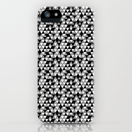Drawn Triangles 03  iPhone Case