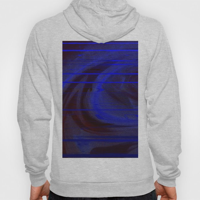 blue matrix Hoody