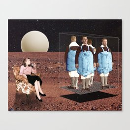 Boys go to Jupiter Canvas Print