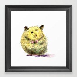 Hamster II Framed Art Print