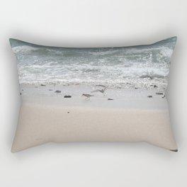 Seashore Sandpipers in tideland Rectangular Pillow