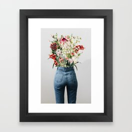 Bottomless Bouquet Framed Art Print