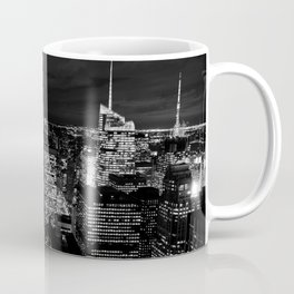 CITY BUILDING DURING NIGHT TIME PHOTO Coffee Mug