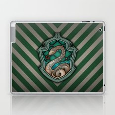 Hogwarts House Crest - Slytherin Laptop & iPad Skin