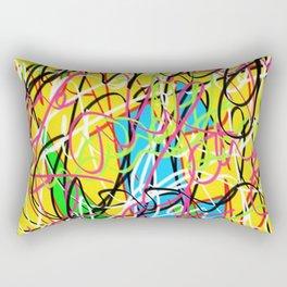 Damaged Property Rectangular Pillow