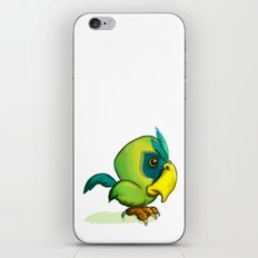 Green Parrot iPhone & iPod Skin