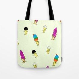 Dancing ice-cream Tote Bag