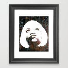 Blonde Diva Framed Art Print