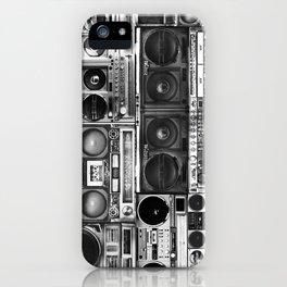 boombox apparel iPhone Case