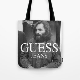 The Late Great Charlie Manson Tote Bag