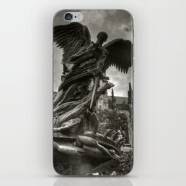 Angel with a sword iPhone Skin