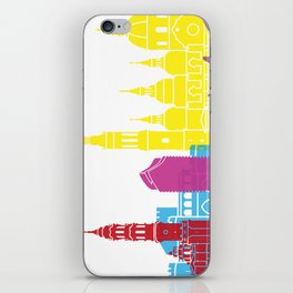 Zaragoza skyline pop iPhone Skin