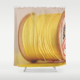y is for yellow Shower Curtain