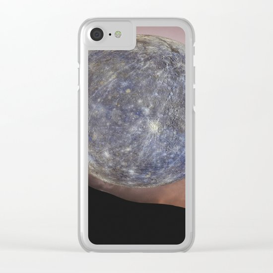 DANCING WITH THE MOON Clear iPhone Case