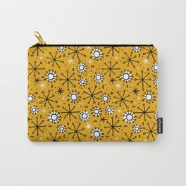 Mid Century mustard Carry-All Pouch