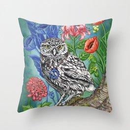 WISDOM IN PARADISE Throw Pillow
