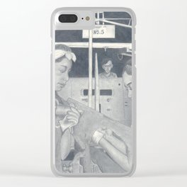 Women at Work Clear iPhone Case