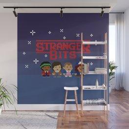 STRANGER 8-BITS Wall Mural