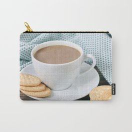 Coffee with milk and cookies Carry-All Pouch