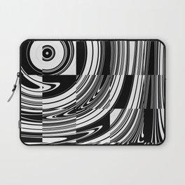 Black White Tiled Laptop Sleeve