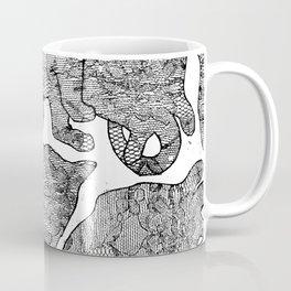 Cat Snuggles on Caturday Coffee Mug