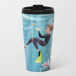 The Sea Metal Travel Mug