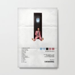 Mac Miller - Swimming Album Cover, Poster Print Wall Art A3, Custom Poster, Home Metal Print