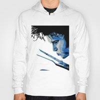 edward scissorhands Hoodies featuring Edward Scissorhands by OnaVonVerdoux