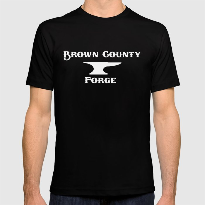 Brown County Forge Simple Logo T-shirt