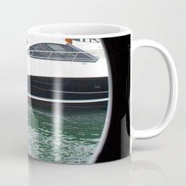 Port Hole View of Boston Coffee Mug