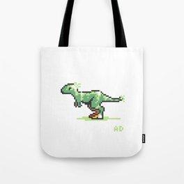 8-Bit T-Rex Tote Bag