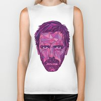 house md Biker Tanks featuring House by Wink