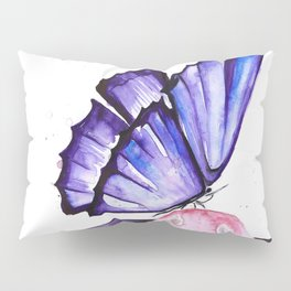 Cat And Butterfly Pillow Sham
