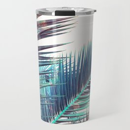 Nostalgic Palm Leaves #Decor #Vintage #BuyArt Travel Mug