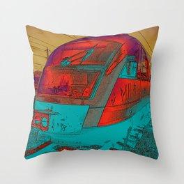 NEON HIGHBALL Throw Pillow