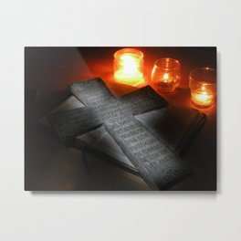 Lord's Prayer Metal Print