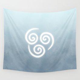 Avatar Air Bending Element Symbol Wall Tapestry