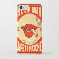 lip iPhone & iPod Cases featuring Lip Service by Wanker & Wanker
