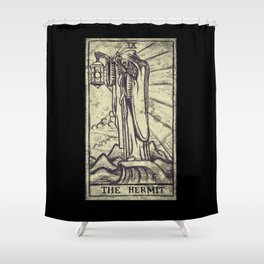 The Hermit Shower Curtain