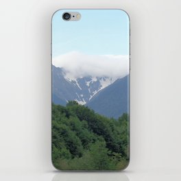 Breathtaking mountain view iPhone Skin