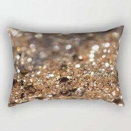 Gold Night Lady Glitter #1 #shiny #decor #art #society6 Rectangular Pillow