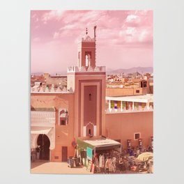 Fantastic Marrakech Poster
