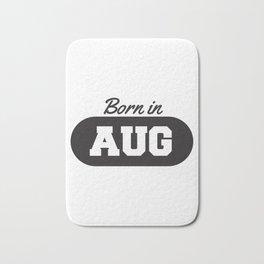 Born in August Bath Mat