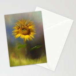 Autumn Sunflower Stationery Cards
