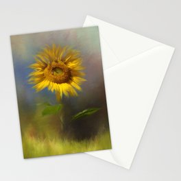 Autumn Sunflower Stationery Cards
