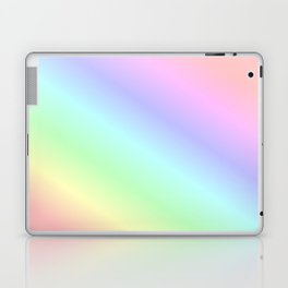 Pastel rainbow Laptop & iPad Skin