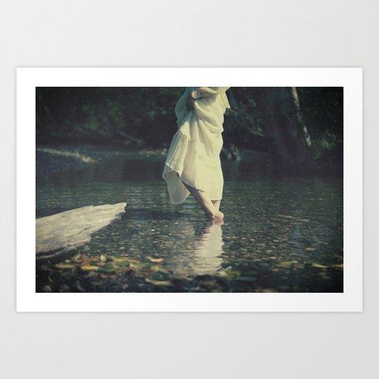 water walk Art Print