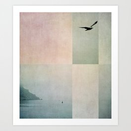sea color Art Print