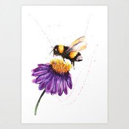BUMBLE BEE II Art Print